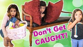 Last to get CAUGHT w/ Easter Basket WINS HUGE!!!   sneaky hiders!