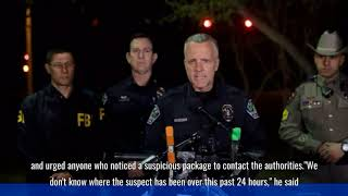 Austin bombings Suspect dead after detonating device, police say