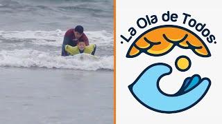 Los grandes beneficios del surf adaptado | La Ola de Todos