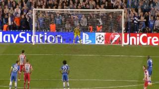 Diego Costa penalty goal Chelsea vs Atletico Madrid 1-2 HD 30-04-2014