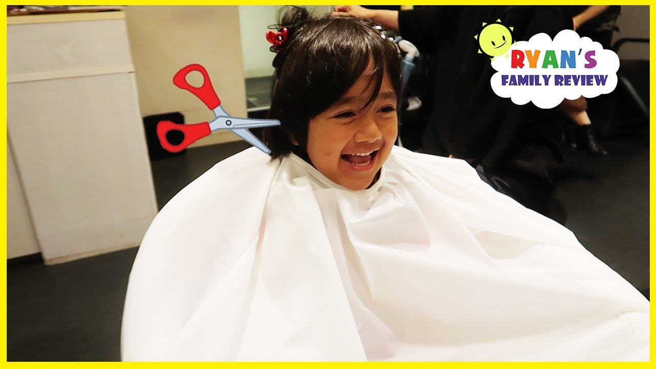 Ryan S First Haircut In Japan More Family Fun Activities Youtube