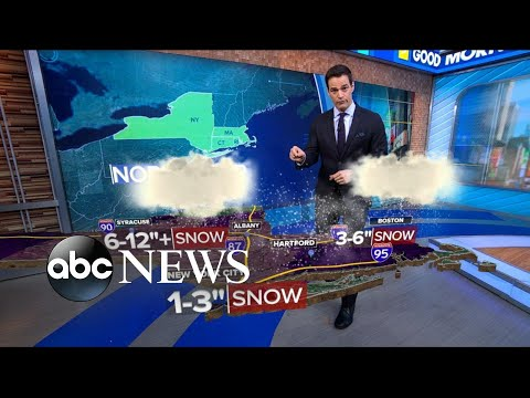 Nor'easter forecast as storm moves in   ABC News