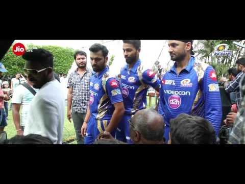 The Making of Jio DhanDhanaDhan with Mumbai Indians!