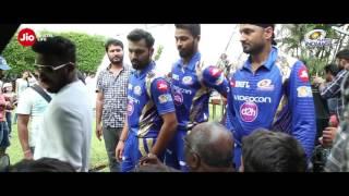 The Making of Jio DhanDhanaDhan with Mumbai Indians!