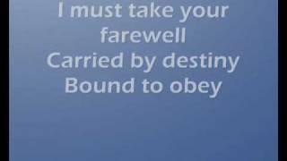 Kamelot- Farewell {lyrics}