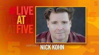 Broadway.com #LiveatFive with Nick Kohn of AVENUE Q