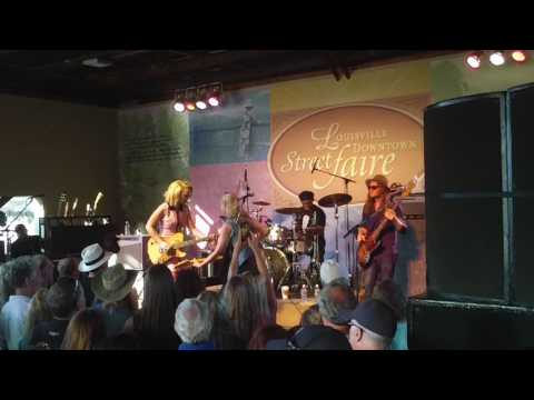 Samantha Fish Band in Louisville  7-15-16  No Angels