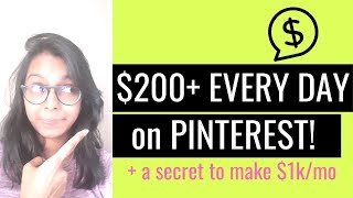 HOW TO MAKE MONEY ON PINTEREST WITH AFFILIATE MARKETING | earn money from Pinterest | Make $1000/mo