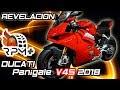Revelación Ducati Panigale V4 S 2018