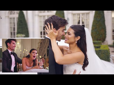 Ashley Iaconetti and Jared Haibon React to Their Same Day Edit Wedding Video from YouTube · Duration:  3 minutes 24 seconds