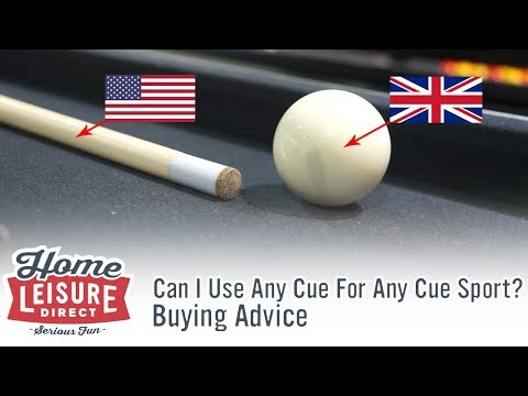 Can I Use Any Cue For Any Cue Sport? - Pool Buying Advice