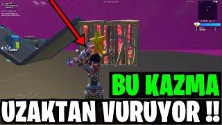 THIS DIGGER HITS FARER !! AMAZING BUG !! (Fortnite Turkish)