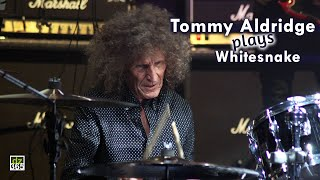 Iconic drummer Tommy Aldridge (Whitesnake) steals the show at Remo Drummer Night