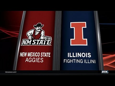 New Mexico State vs. Illinois - Men's Basketball Highlights