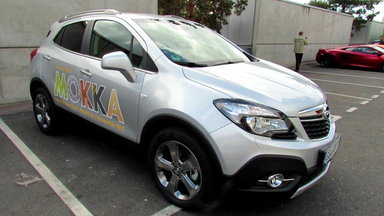 2013 opel mokka test drive car exterior 2012 paris. Black Bedroom Furniture Sets. Home Design Ideas