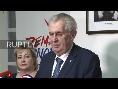 Czech Republic: Zeman leads but faces presidential run-off against Drahos