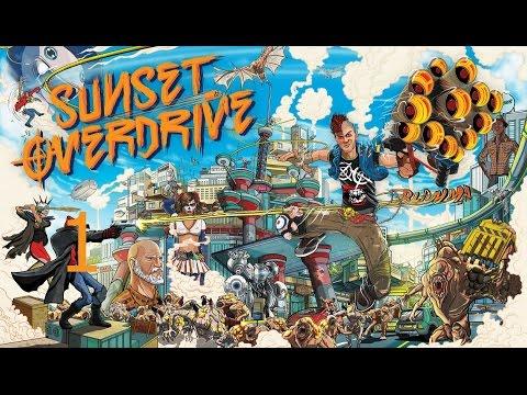 Гагатун впервые играет в Sunset Overdrive #1 (Xbox One)