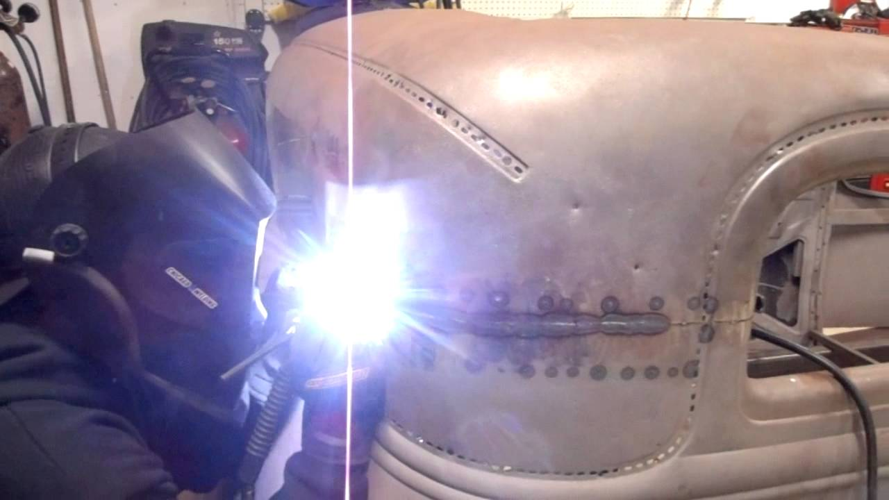 TIG welding the 1931 Ford Model A Vicky body & TIG welding the 1931 Ford Model A Vicky body - YouTube markmcfarlin.com