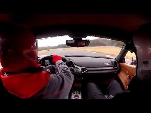 Hallett SDA Ferrari 458 Italia 11-21-14 Ride Along & 2 Drives