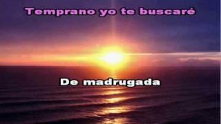 """Temprano Yo Te Buscare"" - Marcos Witt (Karaoke - Pista) Instrumental"