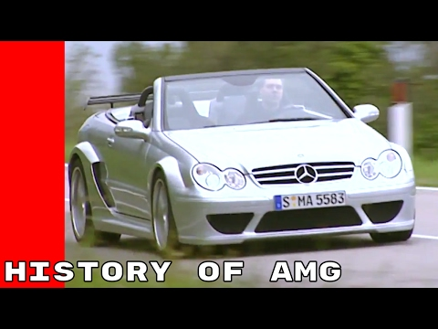 History Of Mercedes AMG Performance Cars