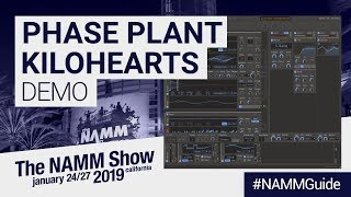 Phase Plant by Kilohearts | Semi-Modular Subtractive Synth | NAMM Show 2019