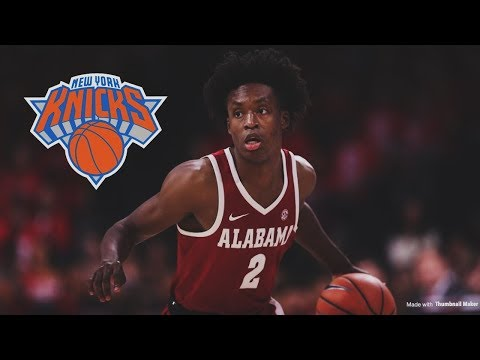 Should The New York Knicks Draft Collin Sexton For Their 9th Pick? | Will This Be A Smart Decision?
