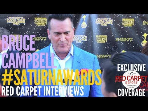 Bruce Campbell #AshVsEvilDead interviewed at the 43rd Annual Saturn Awards #SaturnAwards