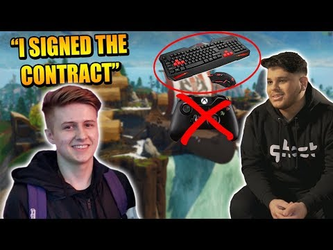 Symfuhny 100% SIGNED To PRO Team! Ghost Issa QUITTING Controller? Team Liquid NEW Duos?