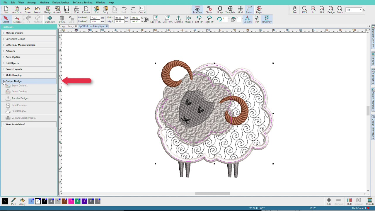 Hatch Embroidery 2 - Exporting SVG Cutting Files