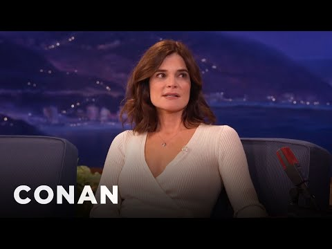 Betsy Brandt's Kids Believe In Leprechauns - CONAN on TBS