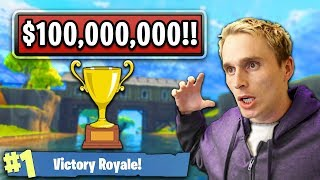 MY THOUGHTS ON THE *NEW* $100,000,000 TOURNAMENT ANNOUNCEMENT FOR FORTNITE BATTLE ROYALE