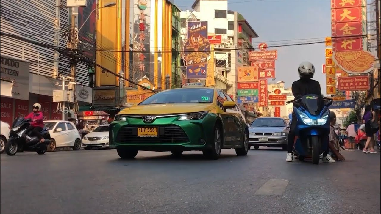 The biggest Chinatown outside of China! - Bangkok, Thailand