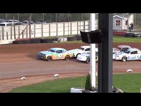 5 19 18 stockcar heat at Luxemburg Speedway