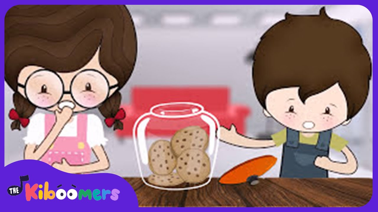 Who Took the Cookie Song for Kids | Cookie Jar Song | Nursery Song ...