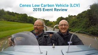 Robert Llewellyn's Green Car Guide Video Review of Cenex LCV2015