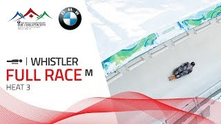 Whistler | BMW IBSF World Championships 2019 - Men's Skeleton Heat 3 | IBSF Official