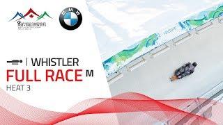 Whistler | BMW IBSF World Championships 2019 - Men's Skeleton Heat 3 | IBSF Official