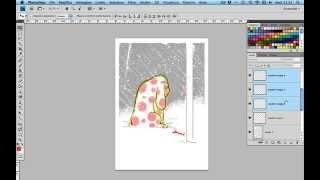 24h sketching - 35min (day7) - La Pimpa