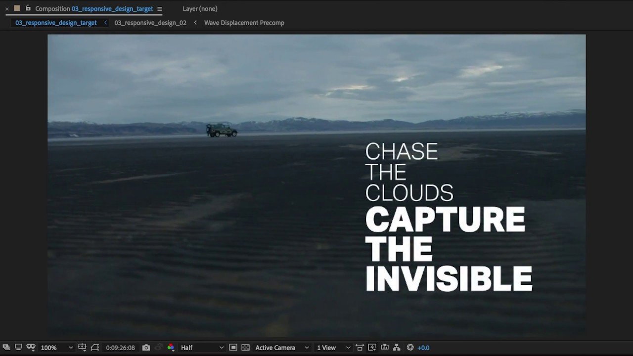 Responsive Design - Time in After Effects CC | Adobe Creative Cloud