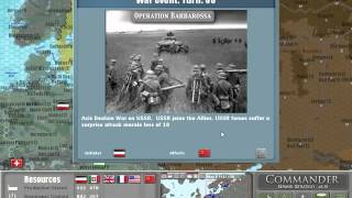 Commander Europe at War - How to Capture Leningrad in 1 Turn