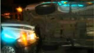 Sayula Jalisco Choque entre patrullas de policías de mierda (analfabetas puercos y animales)