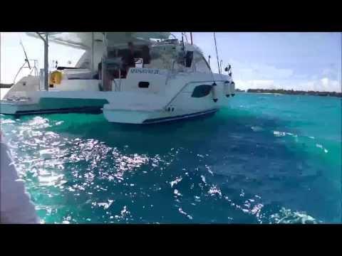 Lindsay Lindsay Sailing Tahiti and Bora Bora 2013
