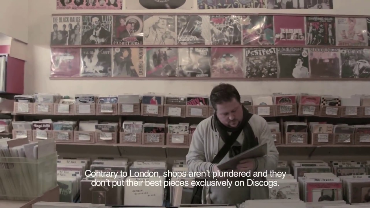 684d92f4 Brussels' Best Record Stores - YouTube