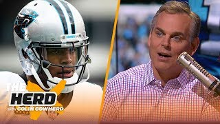 Colin Cowherd compares Cam Newton to Russell Westbrook, talks Andrew Luck for MVP | NFL | THE HERD