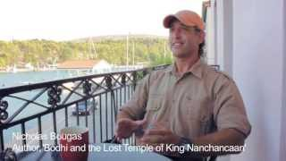 Nicholas Bougas discusses 'Bodhi and the Lost Temple of King Nanchancaan'