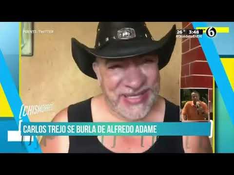 Alfredo Adame le responde a Rocío Banquells, Carlos Trejo y Gustavo Adolfo Infante