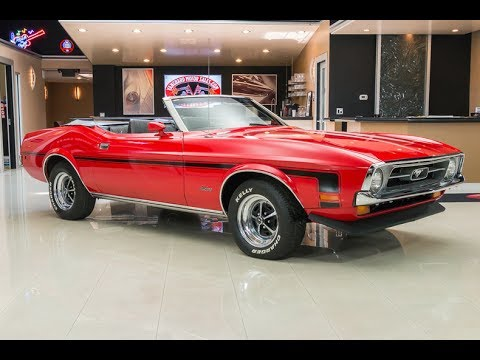 1972 Ford Mustang Convertible For Sale Youtube