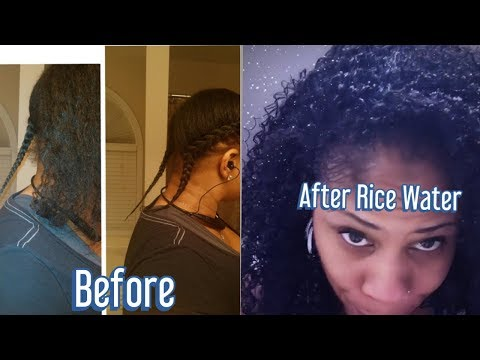 GROW HAIR CRAZY FAST WITH THE REAL RICE WATER FOR HAIR GROWTH