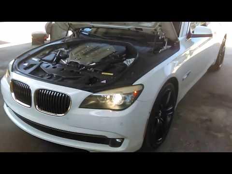 2009-2012 BMW F01 F02 740i 740Li 750i 750Li 760i 760Li headlights adjustment